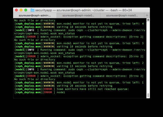 ceph-install-host-error